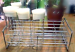 フライトレス ショウジョウバエ用40ミリガラス管