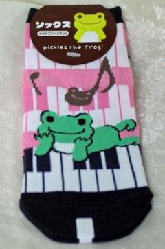 ミュージックピクルス ソックス(ピアノ)