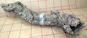バージンコルクパイプc  長40x10cm