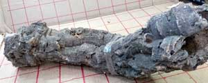 バージンコルクパイプr  長40x8cm