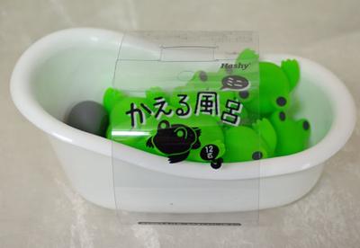 かえる風呂  12匹セット
