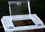 フタが透明のプラケース SMLの3サイズ