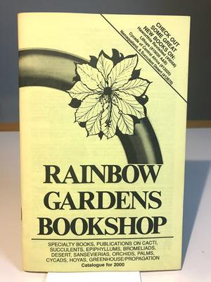 RAINBOW GARDENS BOOKSHOP Catalogue for 2000