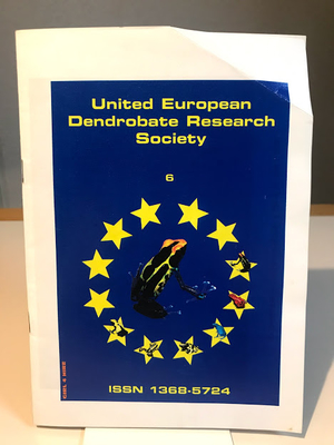 United European Dendrobate Research Society  Journal No.6