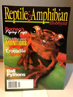 REPTILE & AMPHIBIAN HOBBYIST 09/2001