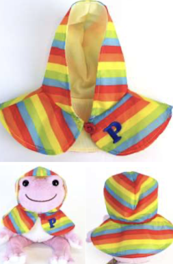 ピクルス レインポンチョ 虹