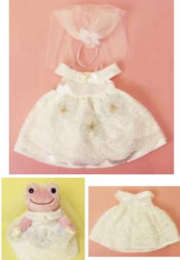 ピクルス ウェディングドレス セット