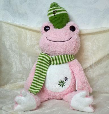ピクルス ウィンター ぬいぐるみM(ピンク)