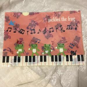 ピクルス クリアファイル ピアノ