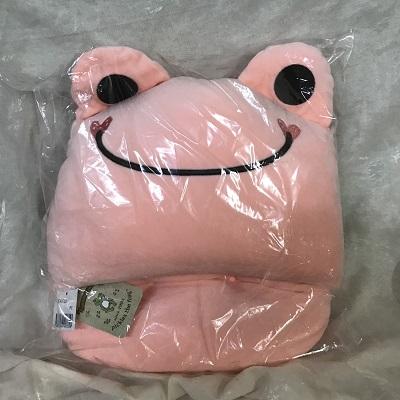 ピクルス 足ポカクッション ピンク