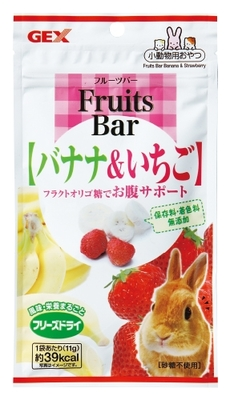【お取り寄せ】フルーツバー バナナ&いちご