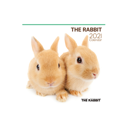 2021年カレンダー THE RABBIT