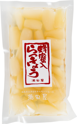 らっきょう蜂蜜漬け 180g(中粒)