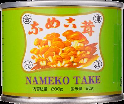 原木なめこ缶詰 90g E(中開)