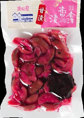 会津高田梅 カリカリ梅種なし(150g甘漬け)
