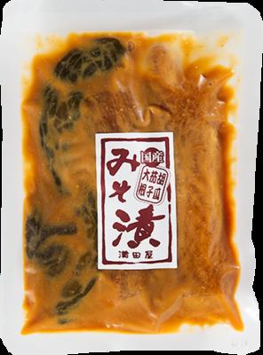 国産 三種みそ漬 (大根、胡瓜、茄子) 150g