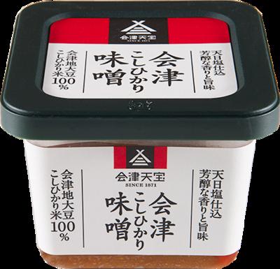 会津こしひかり味噌 500g