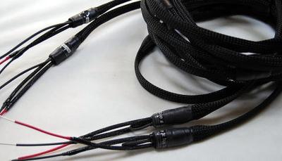 BL型8段ラダースピーカーケーブル(LRペア)2m