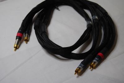 SP型8段ラダーRCAケーブルSW(LRペア)2m
