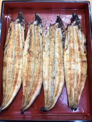国産うなぎ白焼 (1本)  (120g~130g)