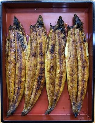 国産うなぎ蒲焼 (1本) たれ付 (125g~135g)