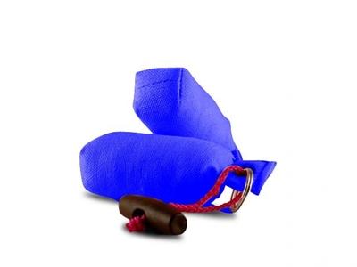 ダミー型キーホルダー ブルー