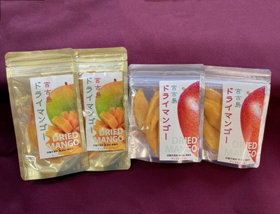 ドライマンゴー(アップル&キーツ)4袋セット【送料無料】