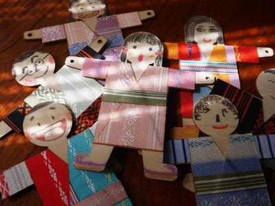 博多織人形手作りキット(4個入り)