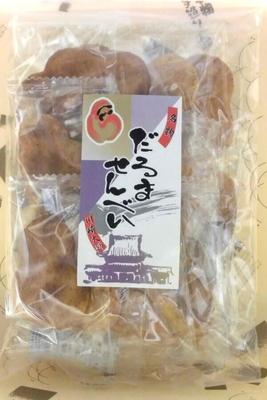 だるませんべい 【包装】 醬油 13枚
