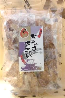 だるませんべい 【包装】 ザラメ 12枚