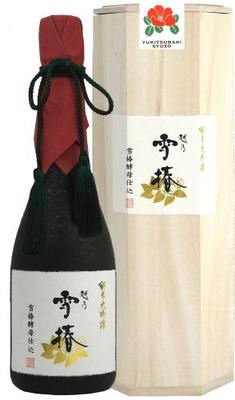 日本酒 越乃雪椿 純米大吟醸 雪椿酵母仕込 720ml