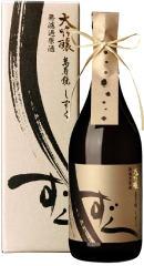 日本酒 萬寿鏡 大吟醸 しずく(化粧箱入) 720ml