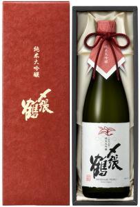 日本酒 〆張鶴 純米大吟醸 RED LABEL 720ml