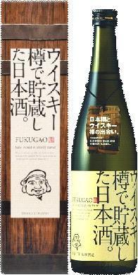 日本酒 原酒 ウイスキー樽で貯蔵した日本酒。FKUGAO 720ml