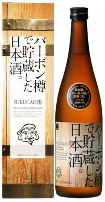 日本酒 原酒 バーボン樽で貯蔵した日本酒。FUKUGAO 720ml