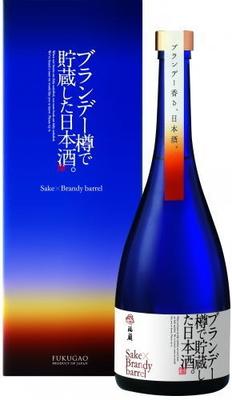 日本酒 原酒 ブランデー樽で貯蔵した日本酒。FUKUGAO 720ml
