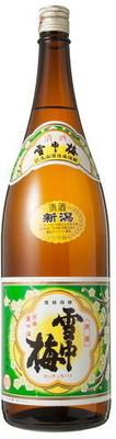 日本酒 雪中梅 普通酒