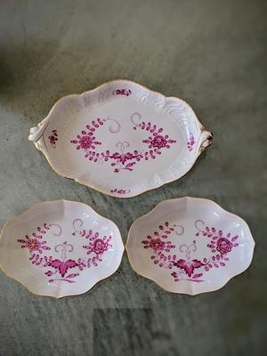 Meissen plate set