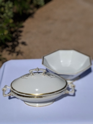 French Porcelain set