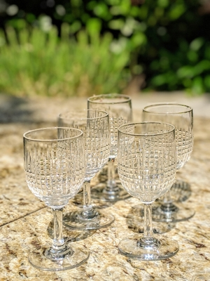 Old Baccarat Glasses Nancy