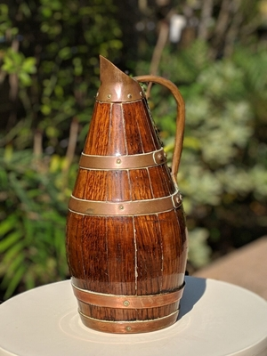 French Oak Cupper Jug.