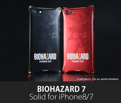 BIOHAZARD 「バイオハザード7」モデル  Solid for iPhone8/7