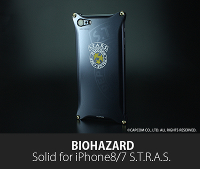 BIOHAZARD 「S.T.A.R.S.」Solid for iPhone8/7