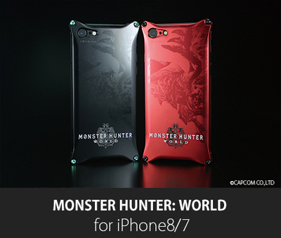 MONSTER HUNTER: WORLD Solid for iPhone8/7