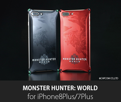 MONSTER HUNTER: WORLD Solid for iPhone 8Plus / 7Plus
