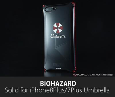 BIOHAZARD 「Umbrella」Solid for iPhone8Plus/7Plus