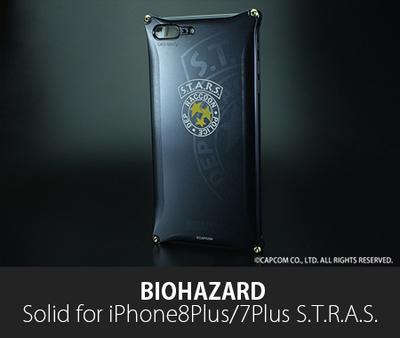 BIOHAZARD 「S.T.A.R.S.」Solid for iPhone8Plus/7Plus