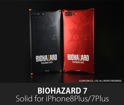 BIOHAZARD 「バイオハザード7」モデル  Solid for iPhone8Plus/7Plus