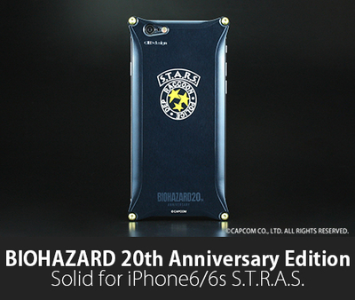 BIOHAZARD 20th Anniversary Edition Solid for iPhone6/6s S.T.A.R.S.