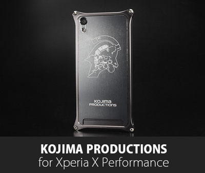 Kojima Productions Logo Ver. for Xperia X Performance